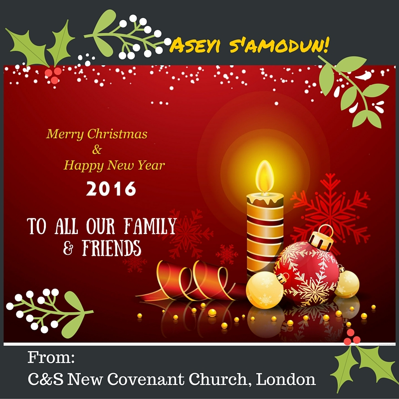 From- C&S New Covenant Church London