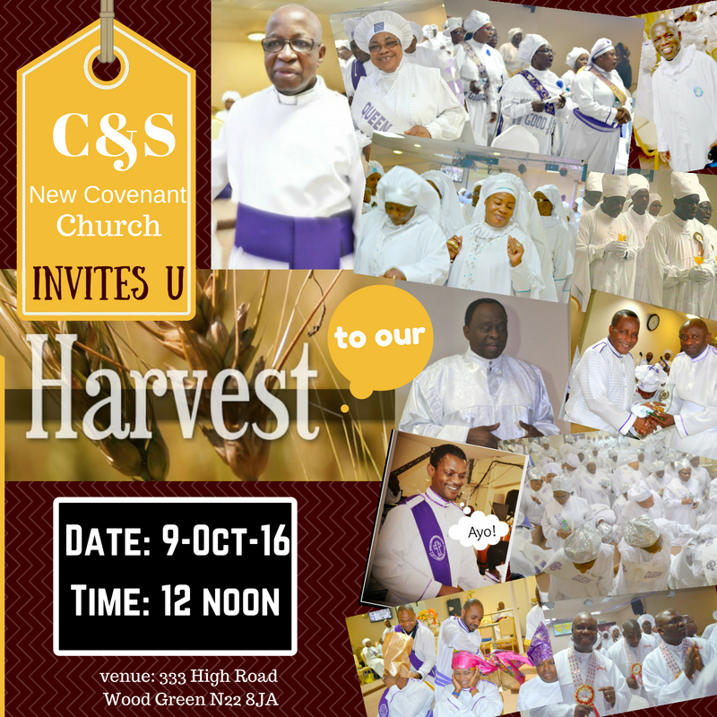 CHURCH HARVEST 2016